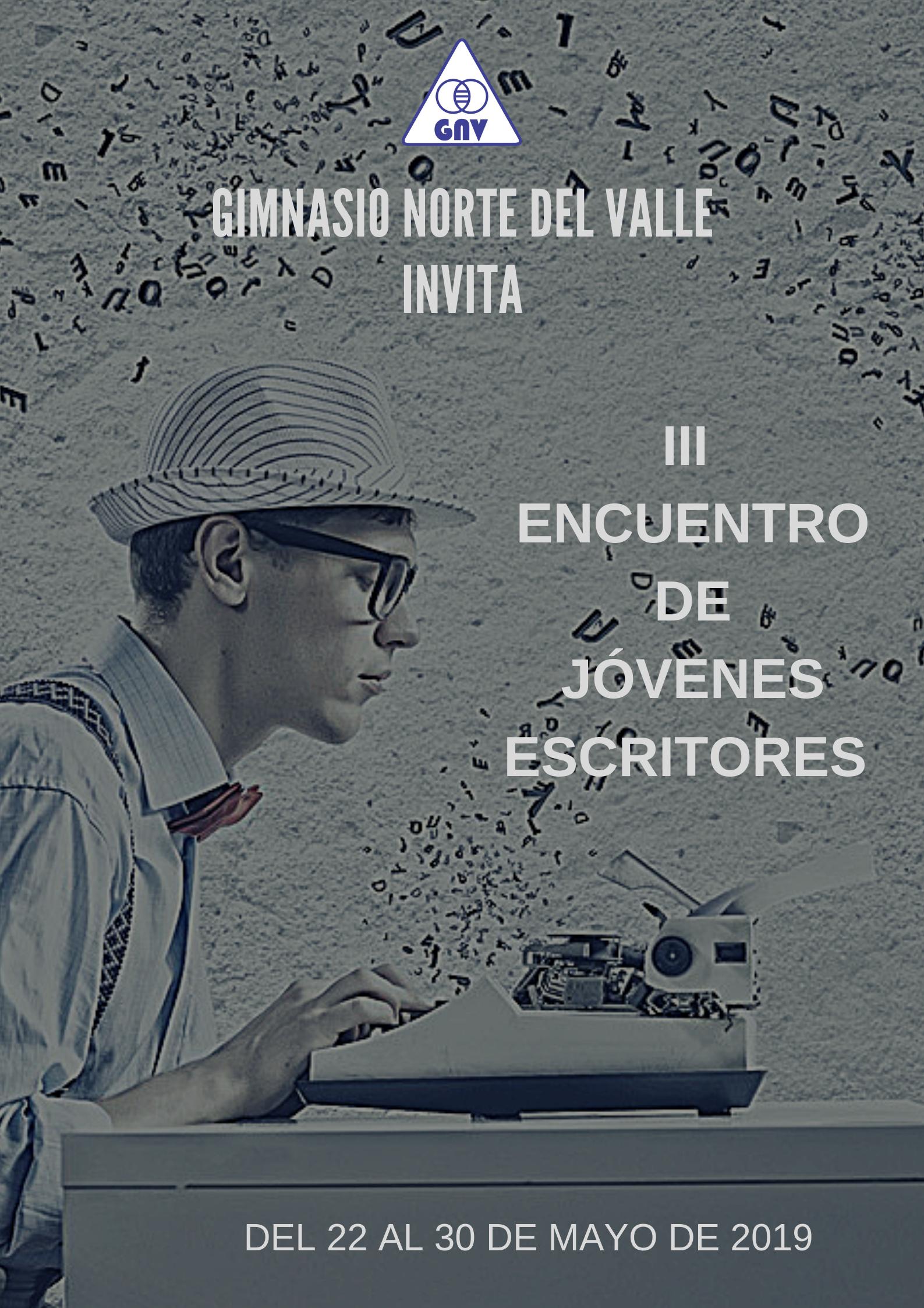 III ENCUENTRO DE JÓVENES ESCRITORES